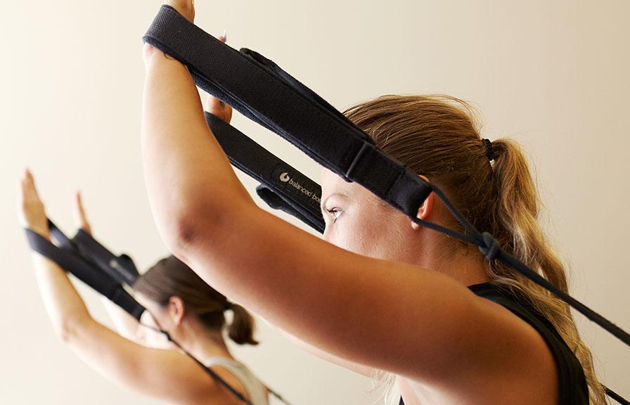 pilates form barre class